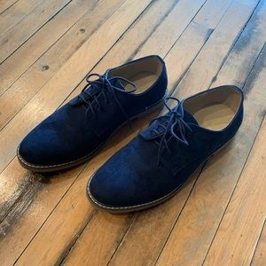Old Navy Shoes - Old Navy - Navy Suede Shoes